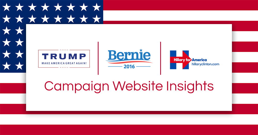 Presidential Campaign Website Insights