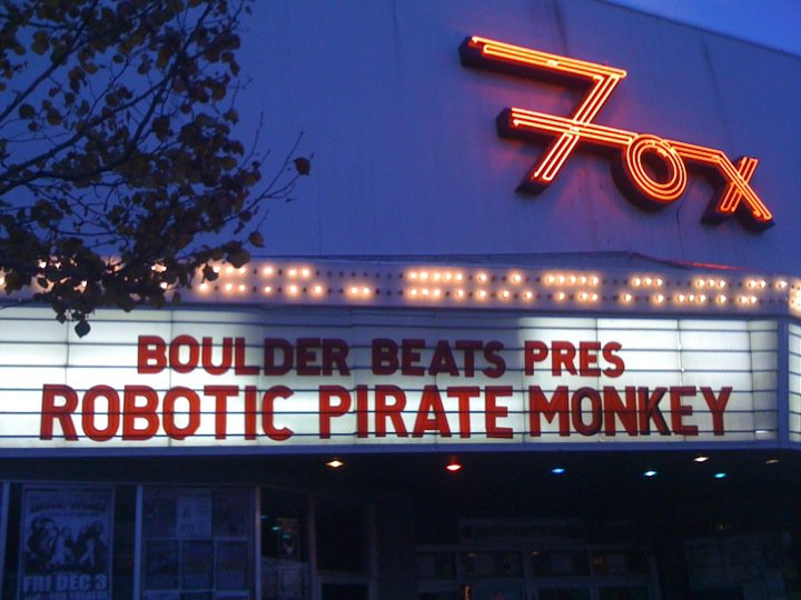 Robotic Pirate Monkey at The Fox Theatre