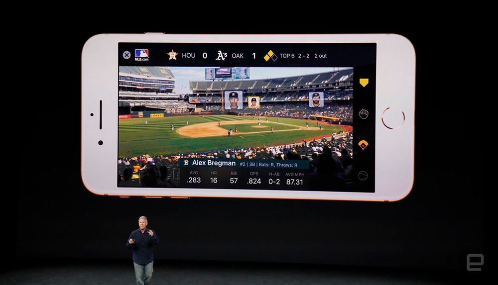 Apple AR Kit MLBAM Integration - Sponsorship Game Changer