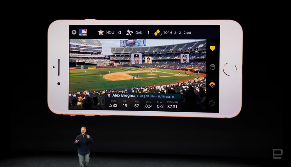 Apple AR Kit MLBAM Integration - Sponsorship Game Changer